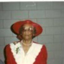 Mrs. Eloise Jones Thomas