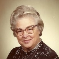 Mrs Ernestia G Peterson