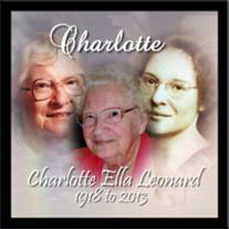 Charlotte (Swope) Leonard