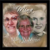 Mary (Major) Mogel