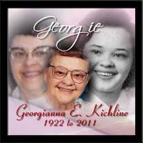 Georgianna Kichline