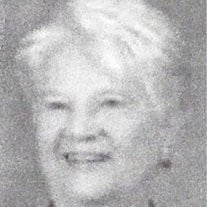 Mrs Marion Joan Robinson McCormack