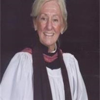 The Reverend Mary E. Laney