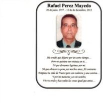Rafel Perez Mayedo