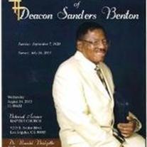 Sanders Benton