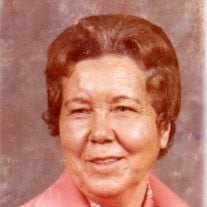Minnie Lou Kiser Rushing of Stantonville, Tennessee