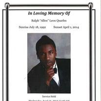 Mr. Ralph Allen Leon Quarels