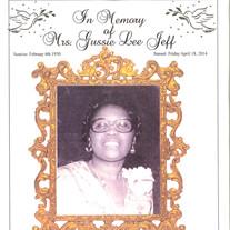Mrs. Gussie Lee Jeff