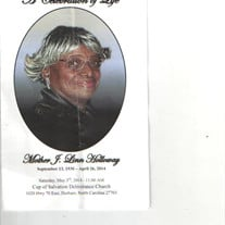 Mrs. J. Linn Elmore Holloway