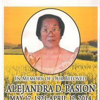 Alejandra Domingo Pasion