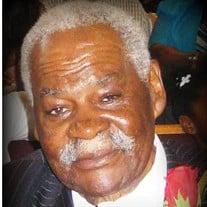 Pastor Emeritus Joe Dean Johnson