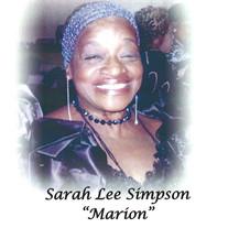 Ms. Sarah Lee Marion Simpson