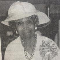 Mrs.  Daisy  Lee Vaughns