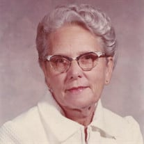 Mrs. May Marie Lee