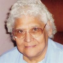 Mrs. Gregoria H. Alaniz