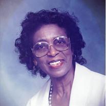 Mrs. Annie Alverta Davis