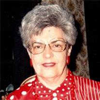 """Mrs. Marcella E. """"Sally"""" Marstall"""