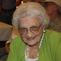 Doris  Marie Meggs McCammon