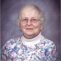 Margaret M Hall