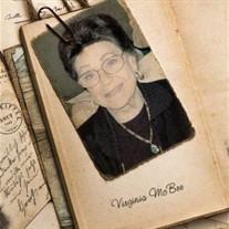 Virginia  McBee