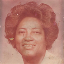 """Mrs.  Ira Mae """"Pookie"""" Lang-Jackson"""