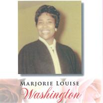 Mrs. Marjorie Louise Washington