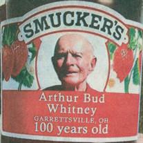 """ARTHUR """"BUD"""" WHITNEY"""