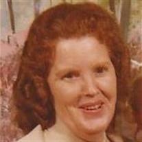 """Mrs. Nannie """"Susie"""" Mosier"""
