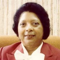 Mrs. Geraldine Mitchell