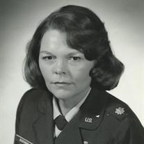 Lt. Col. Sue Ann  Buchanan USAF