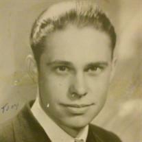 """Marion """"Tony""""  Louis Wickberg"""