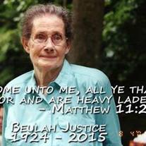 Beulah Justice