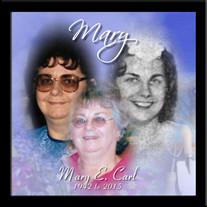 Mary E. (Hagner) Carl