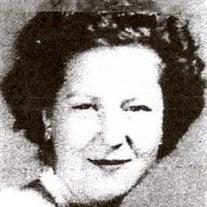 Mrs. JoAnn Woolverton Newman McKay