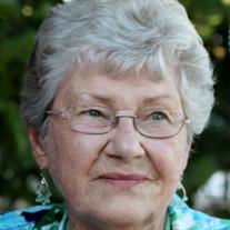 """Mrs. """"Jean"""" Sarah Dorothy Bates"""