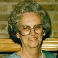 Margaret Jane Mahood