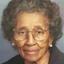 Mrs. Mary Womble Jones