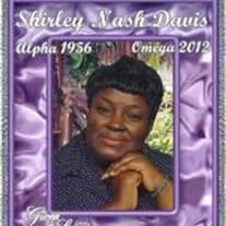 Ms. Shirley Ann Nash Davis