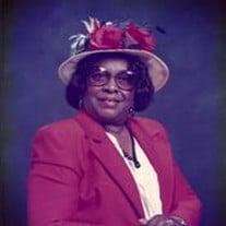 Mrs. Ida Louise Jackson Verrett Bonds