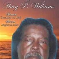 Mr. Huey P. Williams