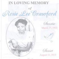 Rosie Lee Crawford