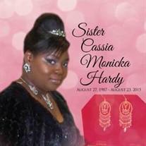Ms. Cassia Monicka Hardy