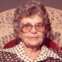 Florence Christena Wagner