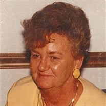 Betty Jean (Ritchie) Clevenger Chalmers