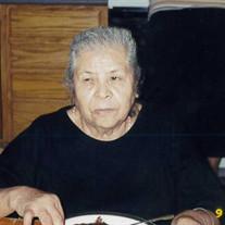 Juana Cortes Solano de Pacheco