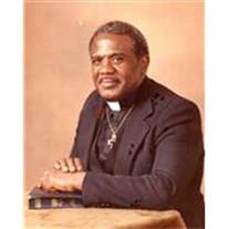 Reverend Martin V Bass, Sr