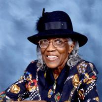 Miss Mary Priscilla Crump