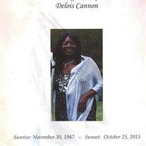 Delois Cannon
