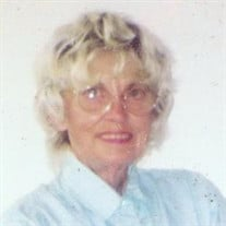 Mrs. Bobbie Jean Milstead