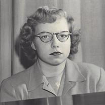 Ann Christine Wolf Hillegass